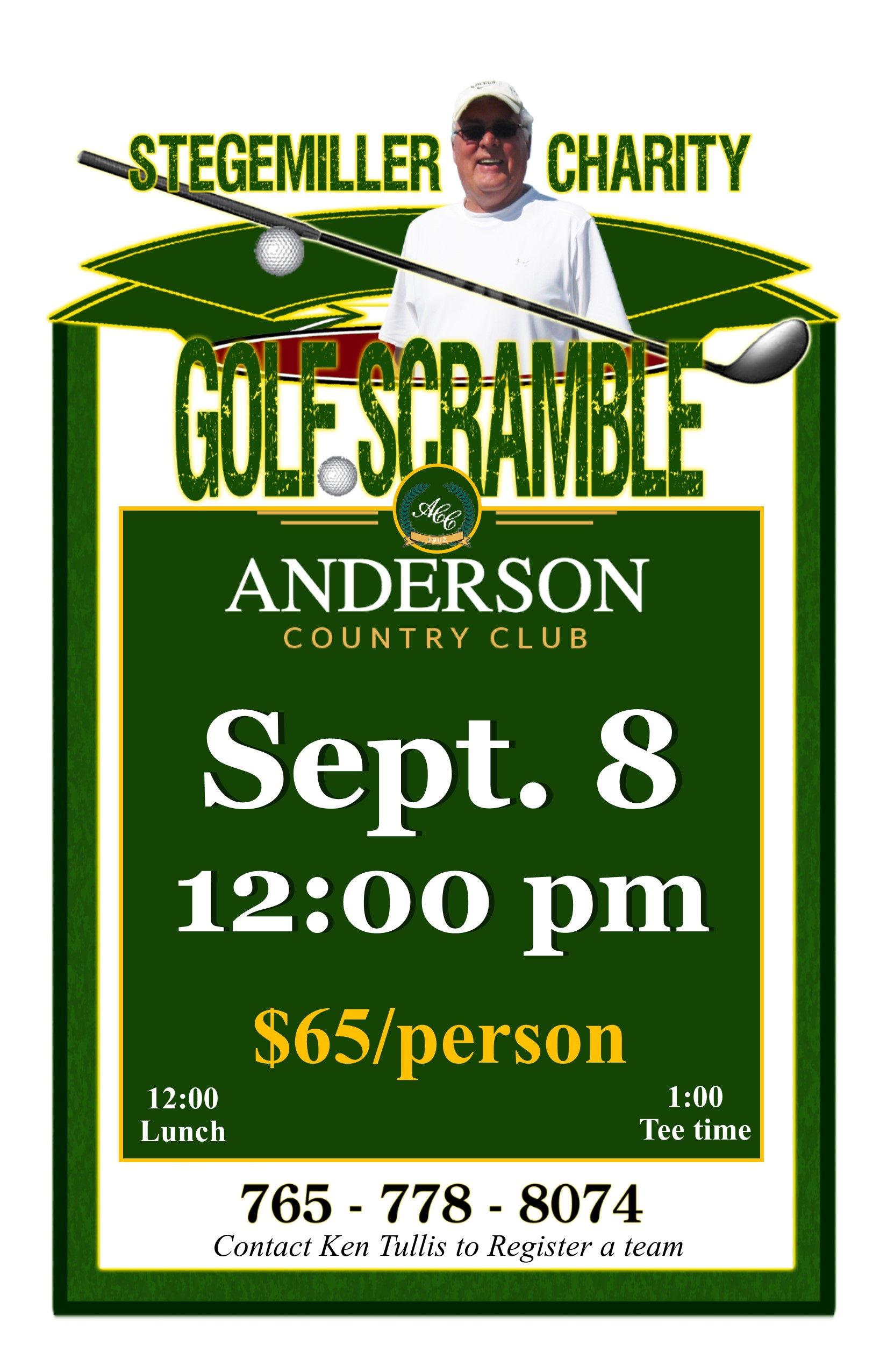 09 08 2018 Golf Scramble