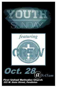 10 28 2018 Youth Sunday Poster