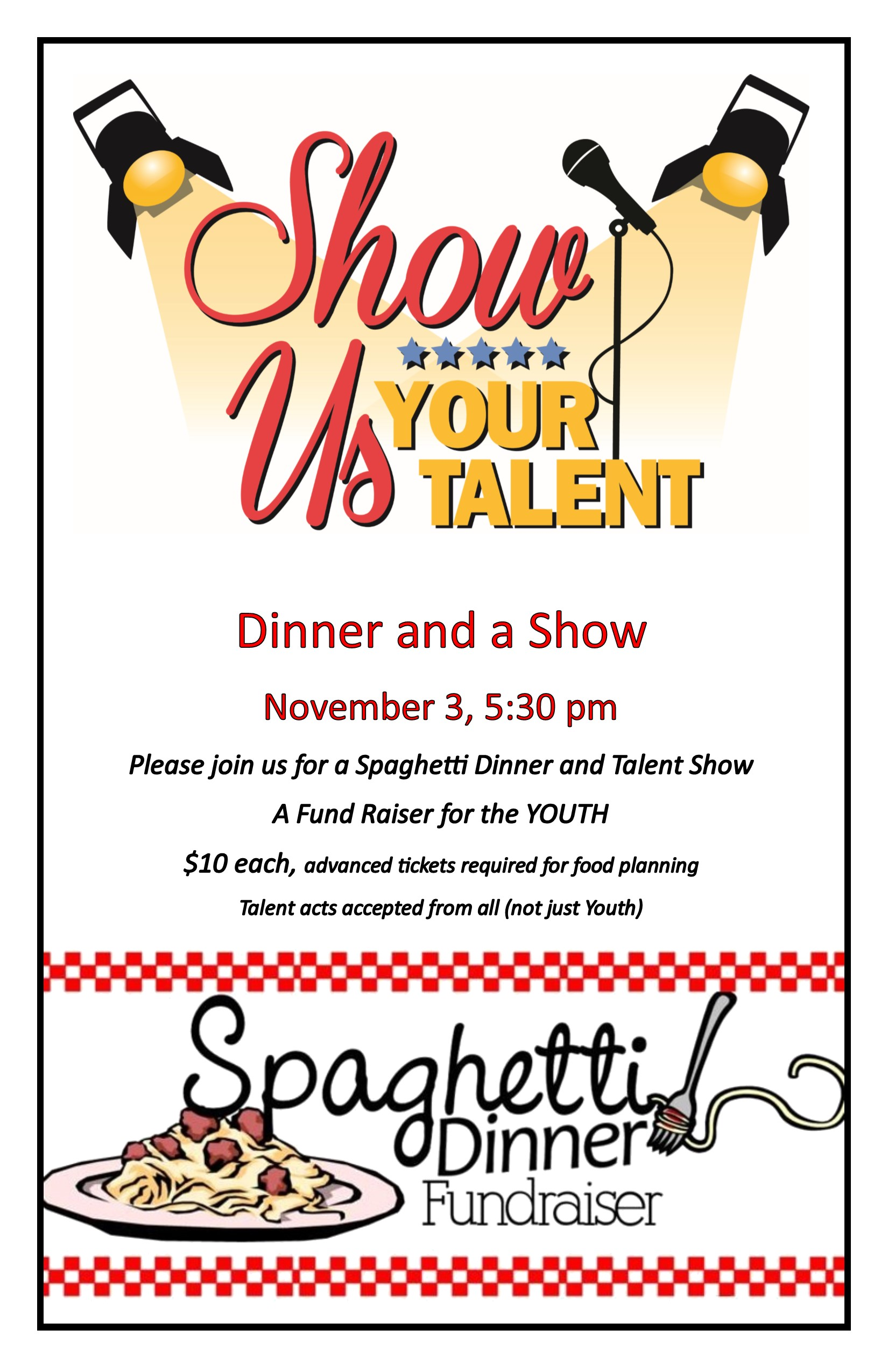 11 03 2018 Talent Show and dinner 2018 Youth