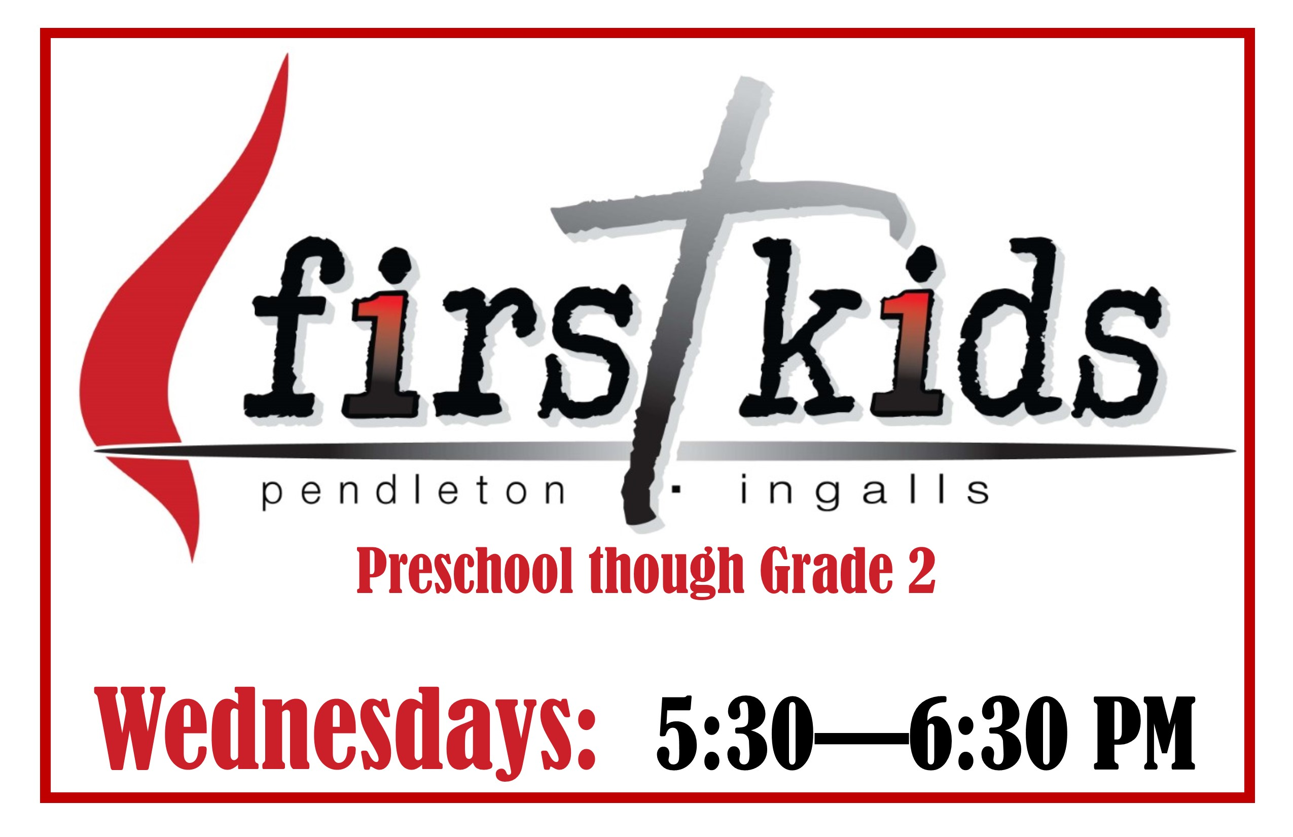 First Kids Wednesday Meeting