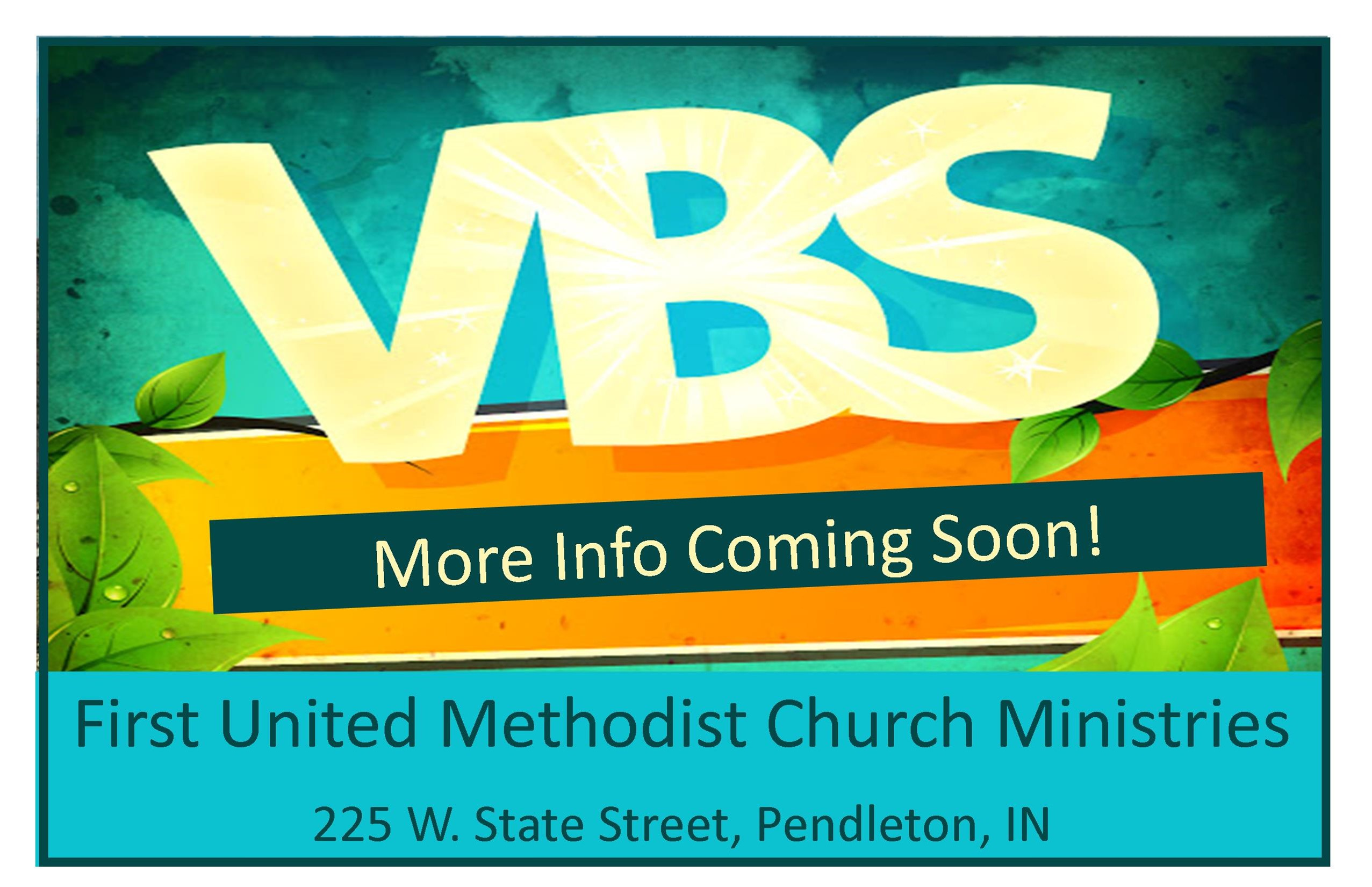 VBS Information Coming Soon